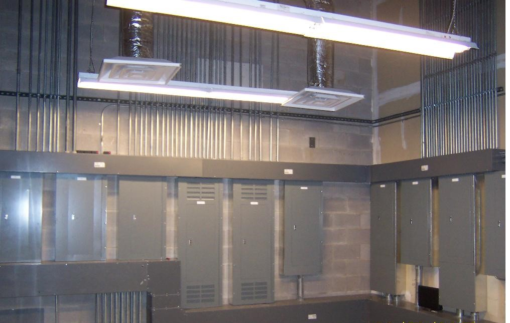 denton county Government center electrical room
